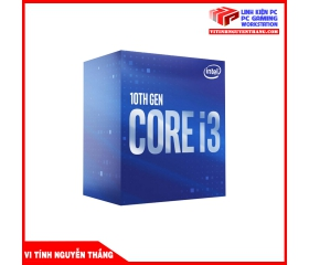 CPU INTEL CORE I3-10100 4 CORES 8 THREADS 4.3GHZ TURBO - HYPER THREADING