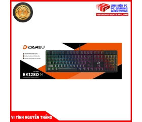 BÀN PHÍM CƠ GAMING DAREU EK1280 104KEY (RGB, BLUE/ BROWN/ RED D SWITCH)