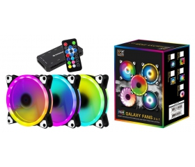 Fan RGB Xigmatek Galaxy Essential - kit 3fan
