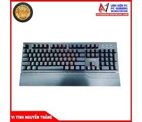 Bàn phím gaming Fuhlen E Eraser Mechanical Blue Switch Black