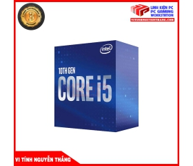 CPU Intel Core i5-10400F (2.9GHz turbo up to 4.3Ghz, 6 nhân 12 luồng, 12MB Cache, 65W) - Socket 1200