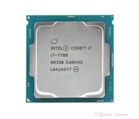CPU Intel Core I7-7700 (3.6GHz) 2ND