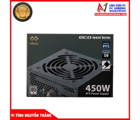 NGUỒN INFINITY ECO 450W 80 PLUS SINGLE RAIL