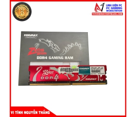 Ram Desktop Kingmax Zeus Dragon Red 8G (1x8GB) DDR4 2666Mhz