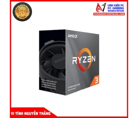 CPU AMD Ryzen 3 3100 (3.6GHz turbo up to 3.9GHz, 4 nhân 8 luồng, 16MB Cache, 65W) - Socket AMD AM4